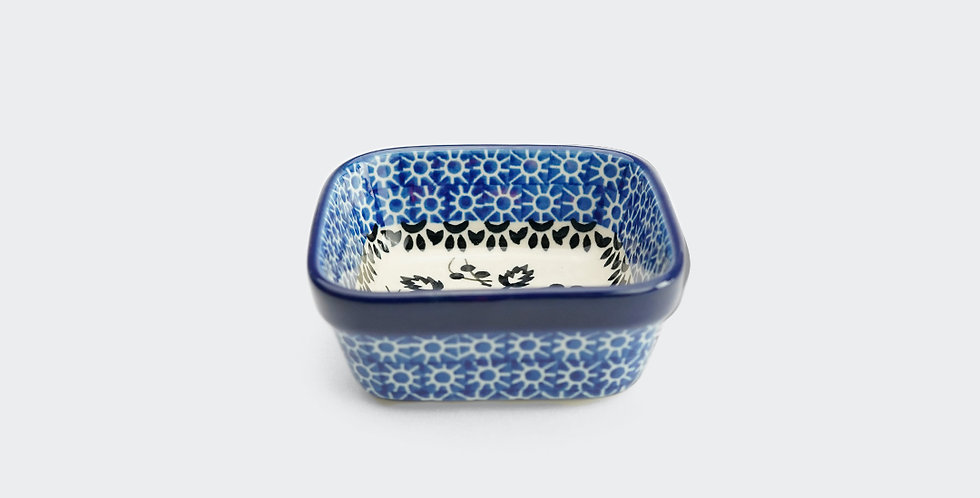 Square Nibble Bowl in Periwinkle