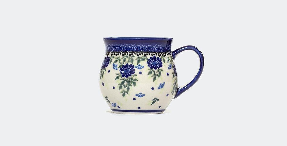 Medium Woodsman Mug in Blue Delphinium