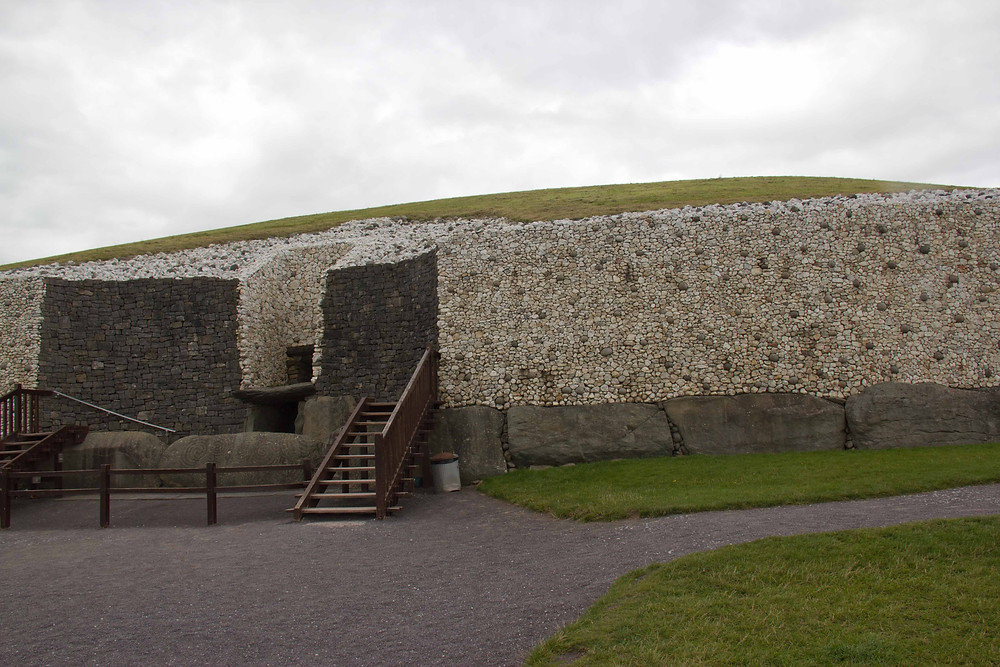Newgrange Stone Age Passage Tomb talked about extensively in The Princes of Ireland