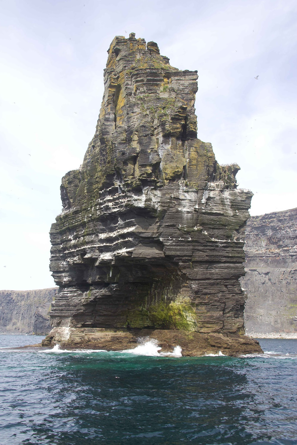 Boat view of Cliffs