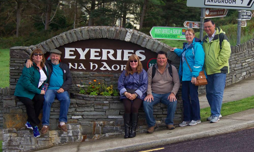 Visiting the hometown of Jack's ancestors