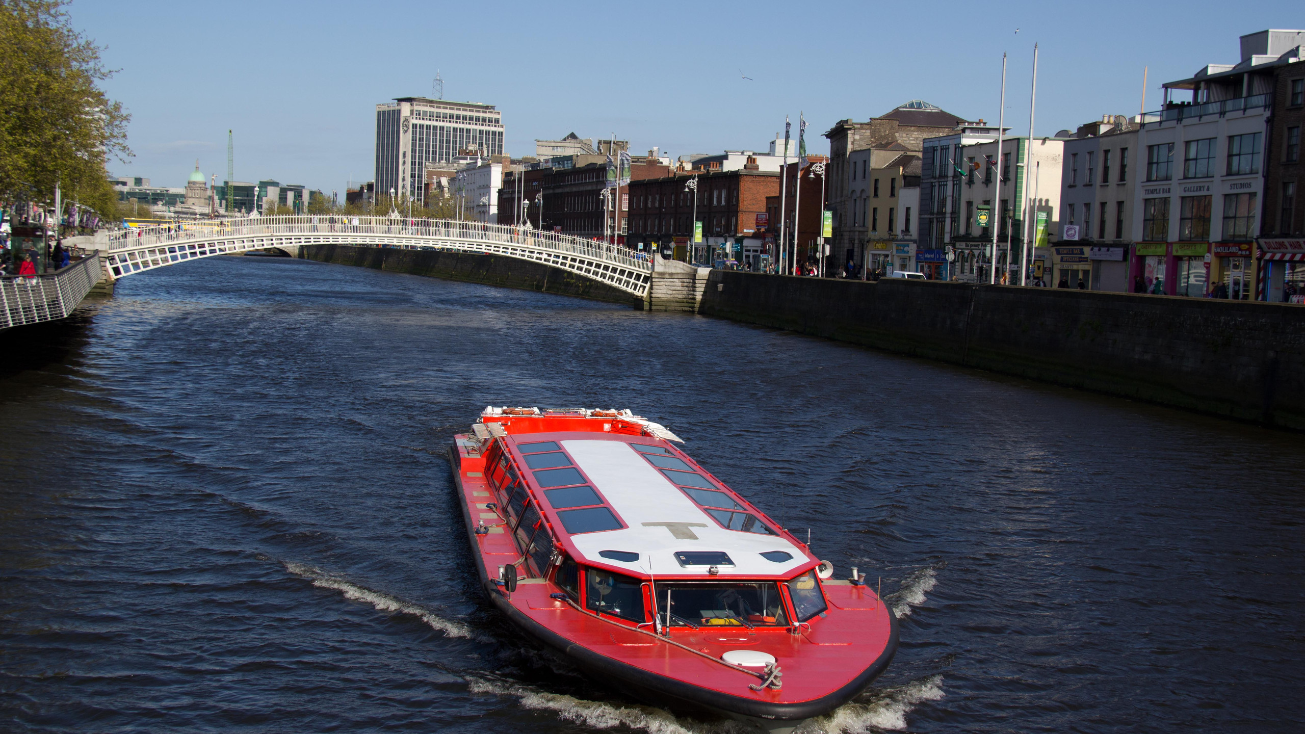 River Cruise on the Liffey