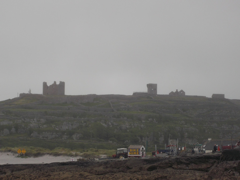 View of Inisheer from the ferry
