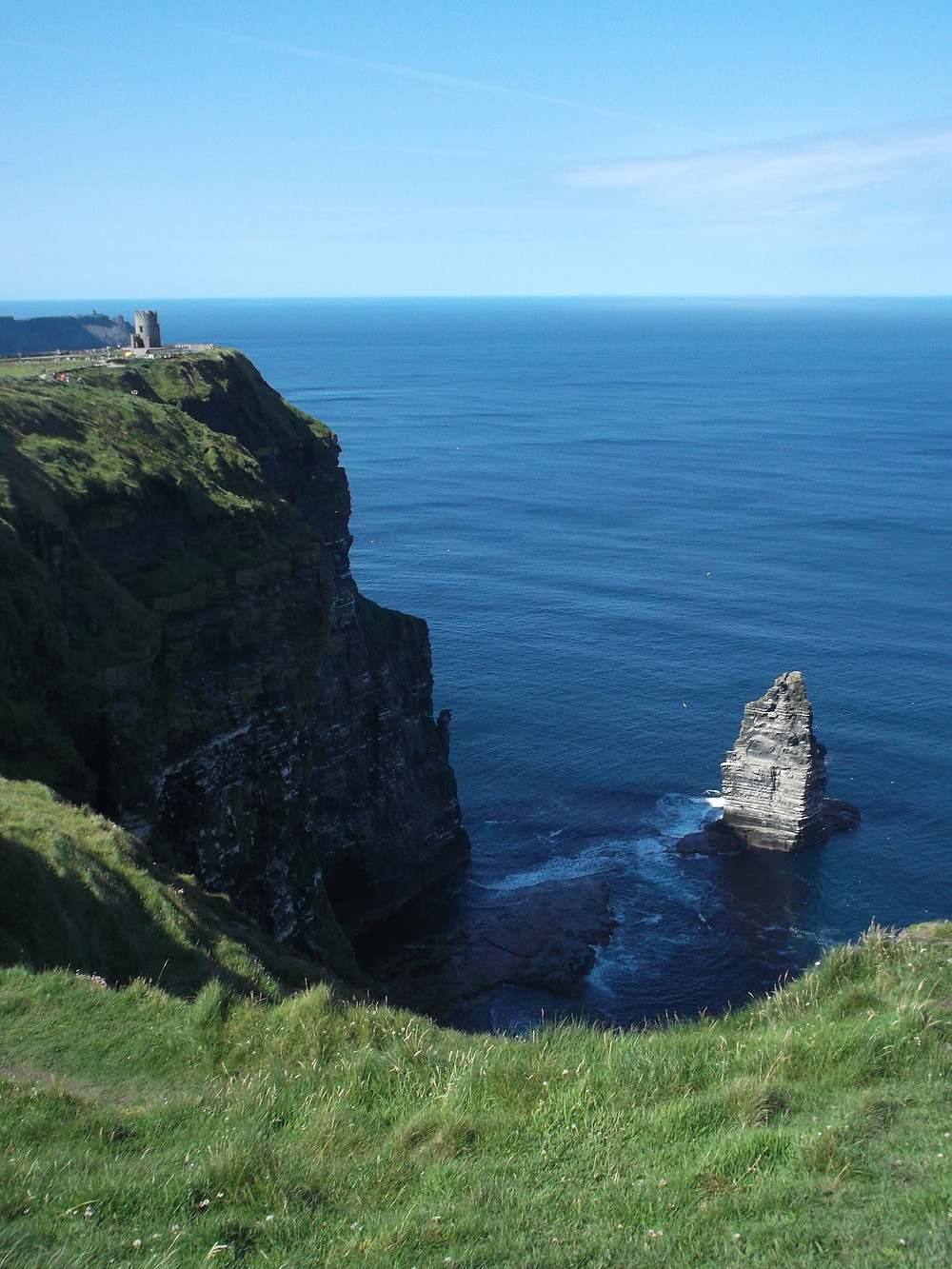 View Along the Way to the Cliffs