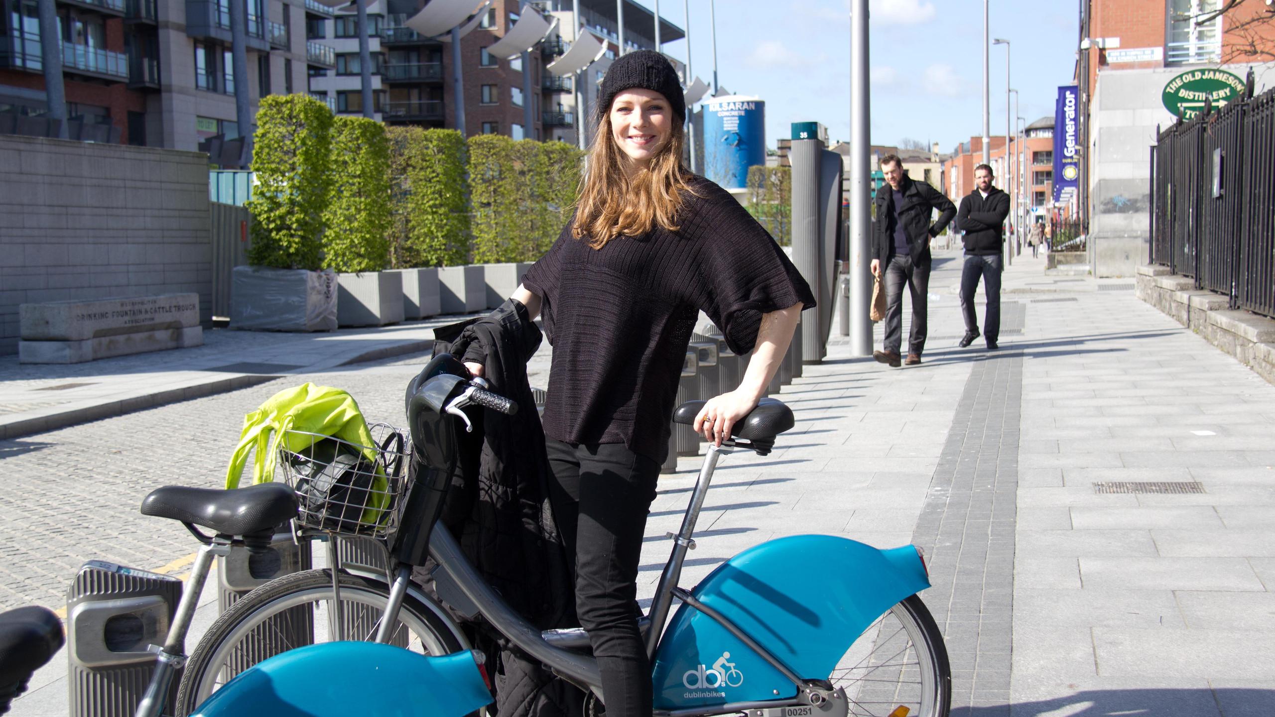 Dublin Bikes Rider