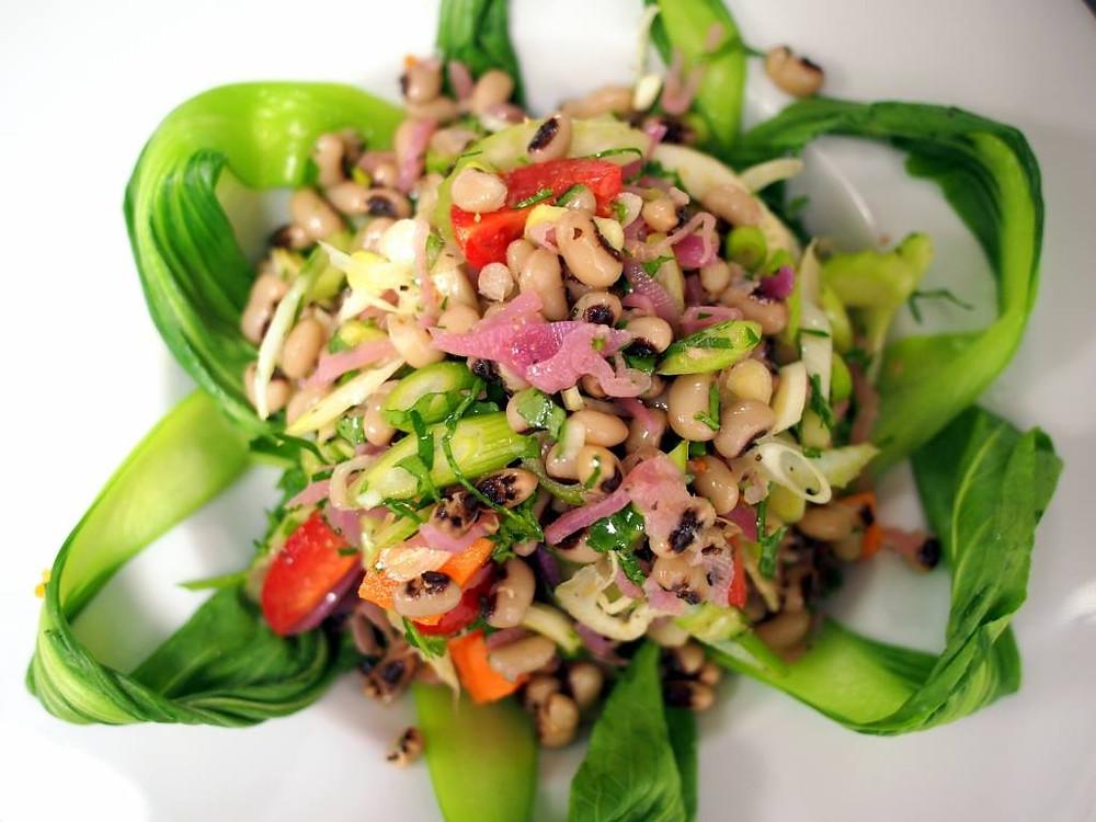 Beautiful & Tasty Bean Salad from Péarla na Mara