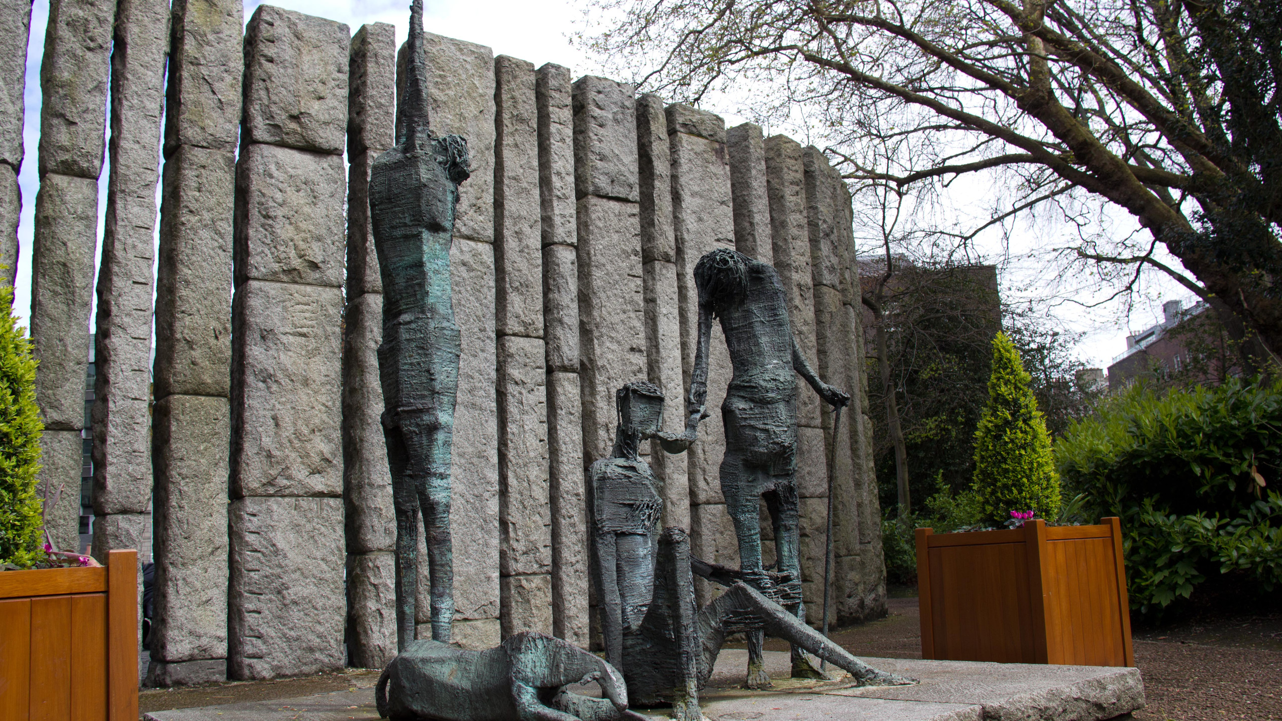Famine Memorial @ St. Stephens Green