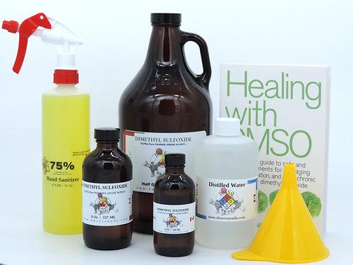 Pure DMSO HALF Gallon / 3785 ml  BUNDLE Special