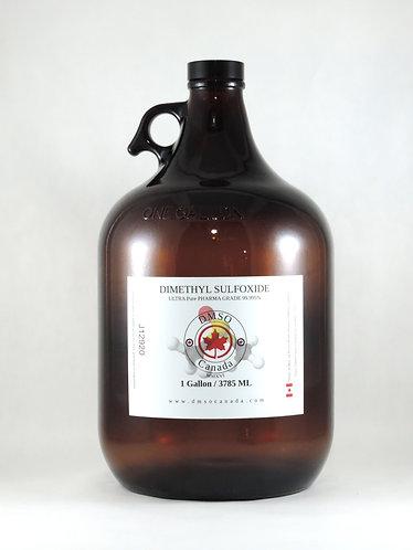 Pure DMSO One Gallon / 3785 ml - New Amber Bottle