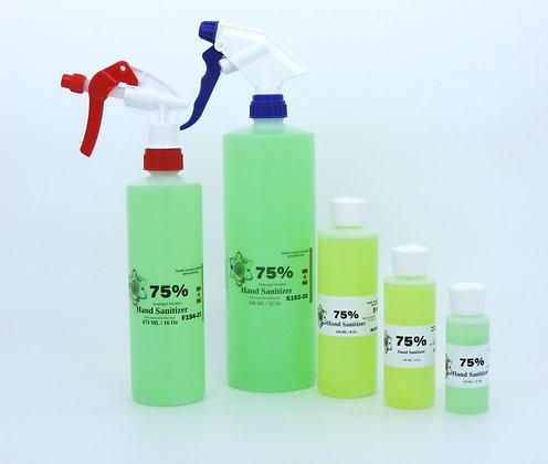 Hand Sanitizer - 75% Safe Isopropyl Alcohol