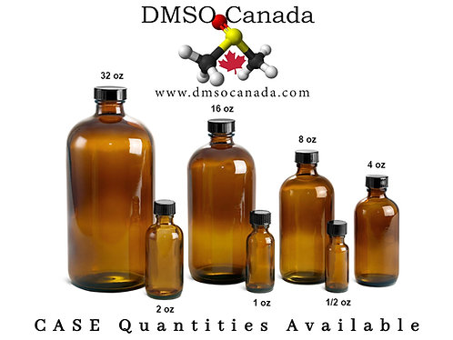8 Oz Pure DMSO - Case of 12