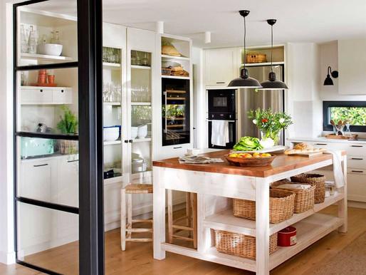 Cocinas con isla: Ideas decorativas y recomendaciones