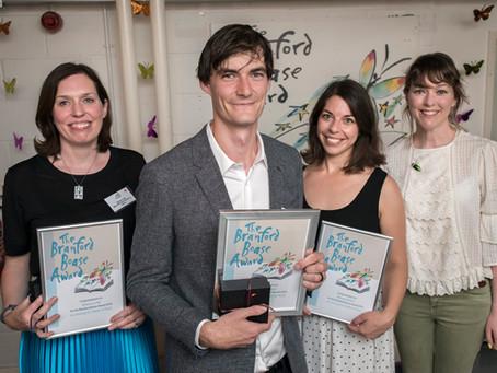 Kick wins the Branford Boase Award 2018