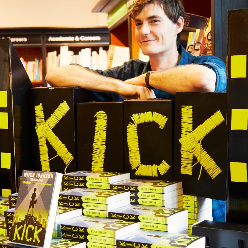 Kick display & me