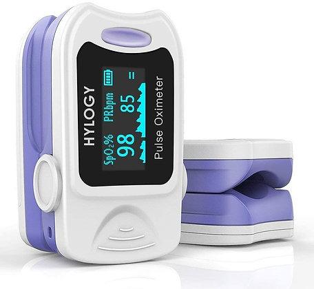 Pulsossimetro,HYLOGY,saturimetro da dito,ossimetro,saturazione ossigeno,muto