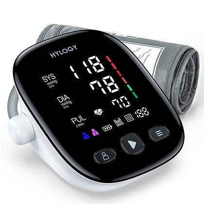 Blood Pressure Monitor Upper Arm, HYLOGY Large LED Display Adjustable Blood Pres