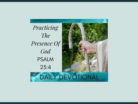 Devotional Bible Study: I Shall Fear No Evil | Psalm 23:4.