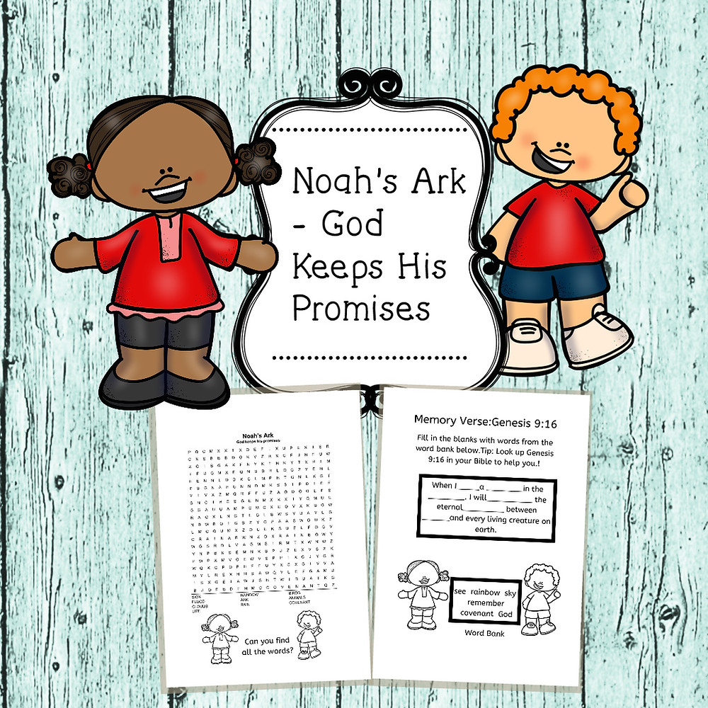Free bible lesson for kids with free printable