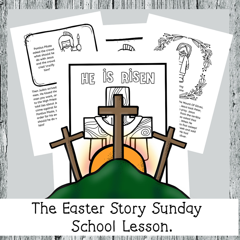 FREE SUNDAY SCHOOL LESSON THE EASTER STORY