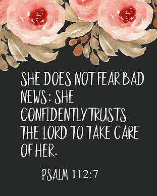 She does not fear bad newsg.jpg