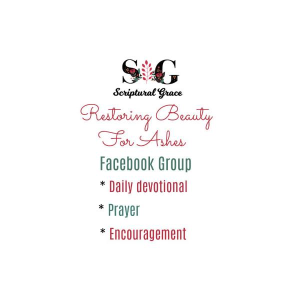 Scriptural Grace Facebook Group