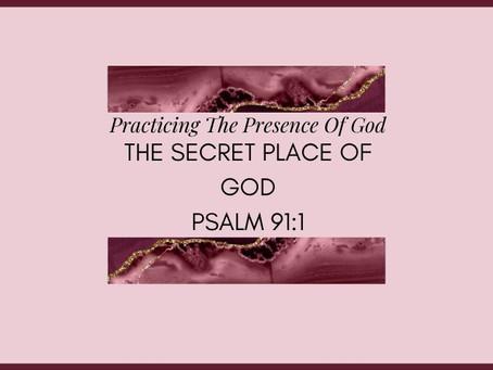 Devotional Bible Study: The Secret Place Of God |Psalm 91:1.