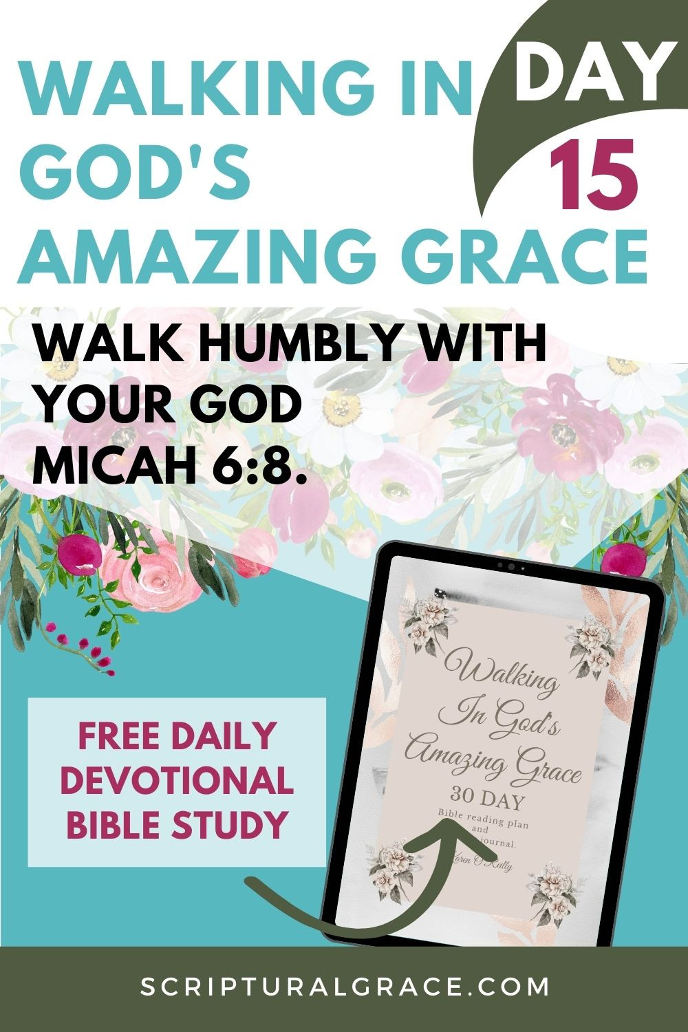 Micah 6:8 daily devotional walk humbly with your God