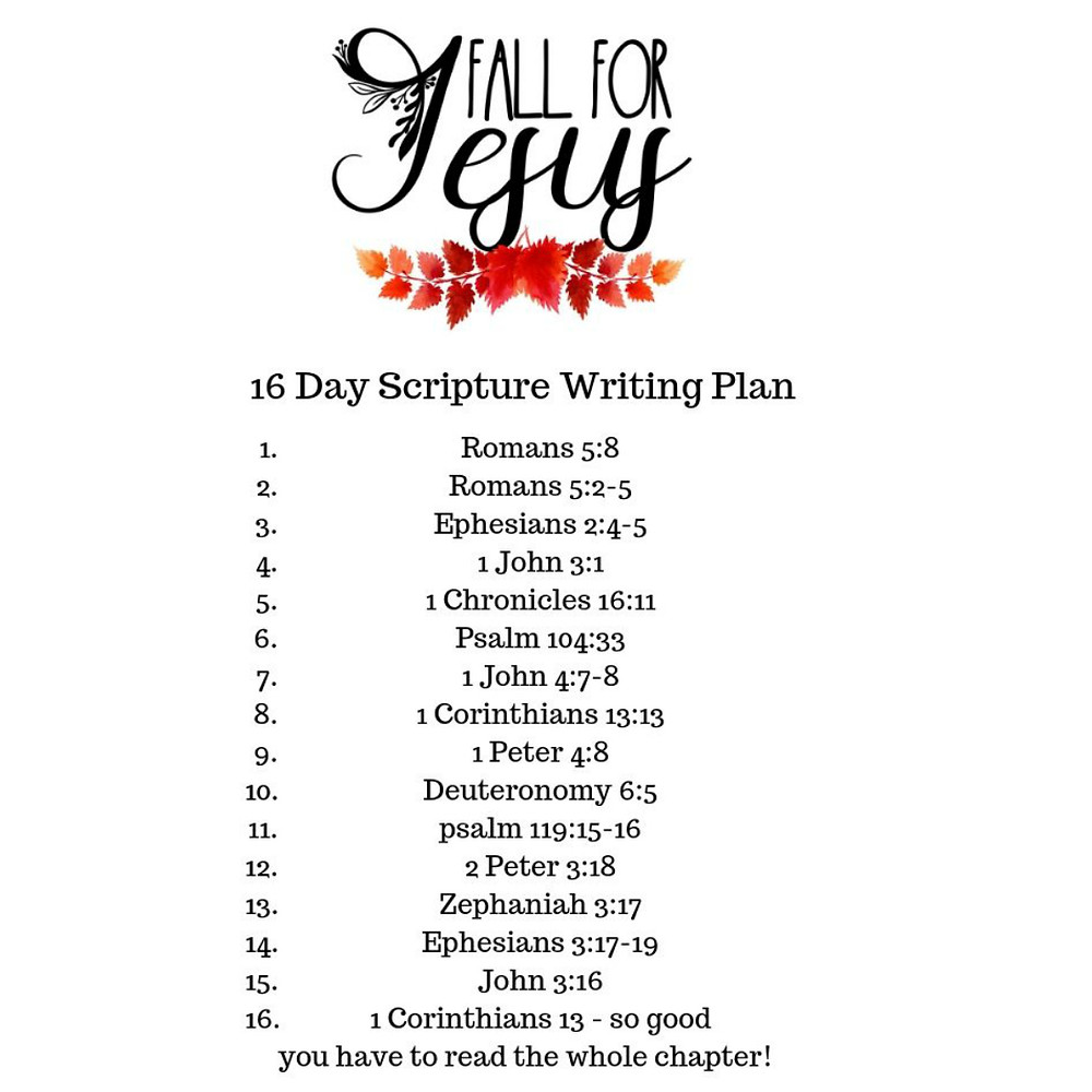 16 Scripture verses on falling in love with Jesus by scripturalgrace.com