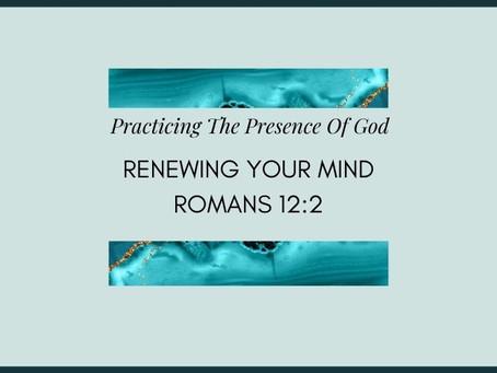 Devotional Bible Study: Renewing Your Mind | Romans 12:2.