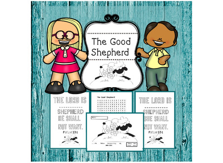 The Good Shepherd - Bible Lesson For Kids.
