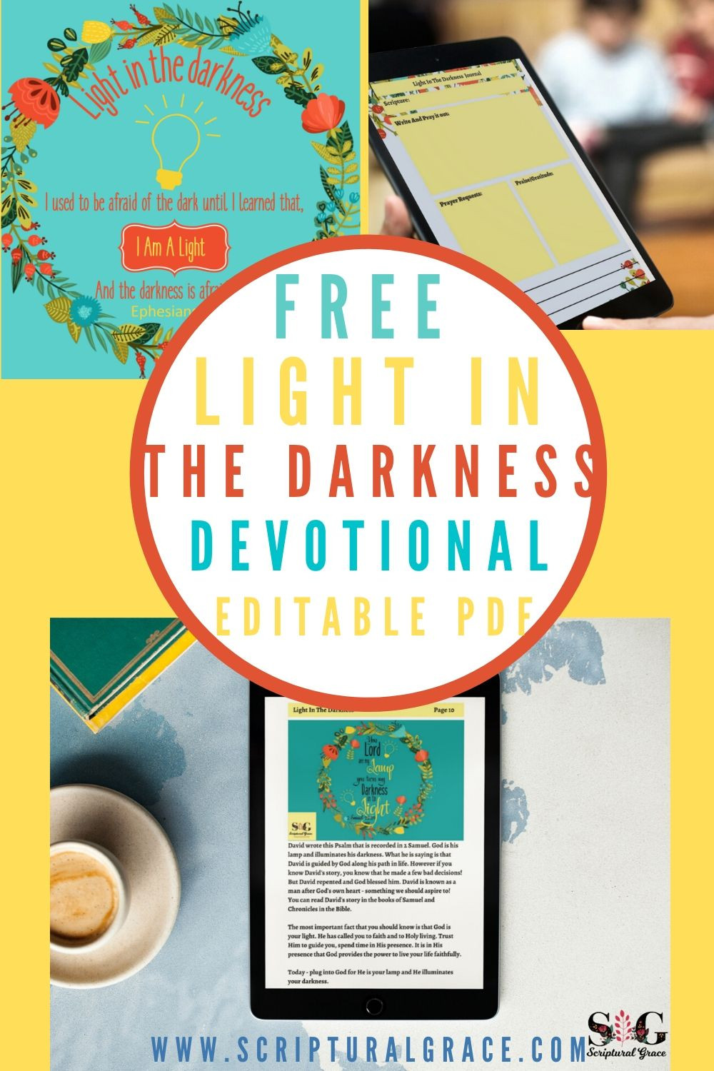 FREE Light In The Darkness devotional