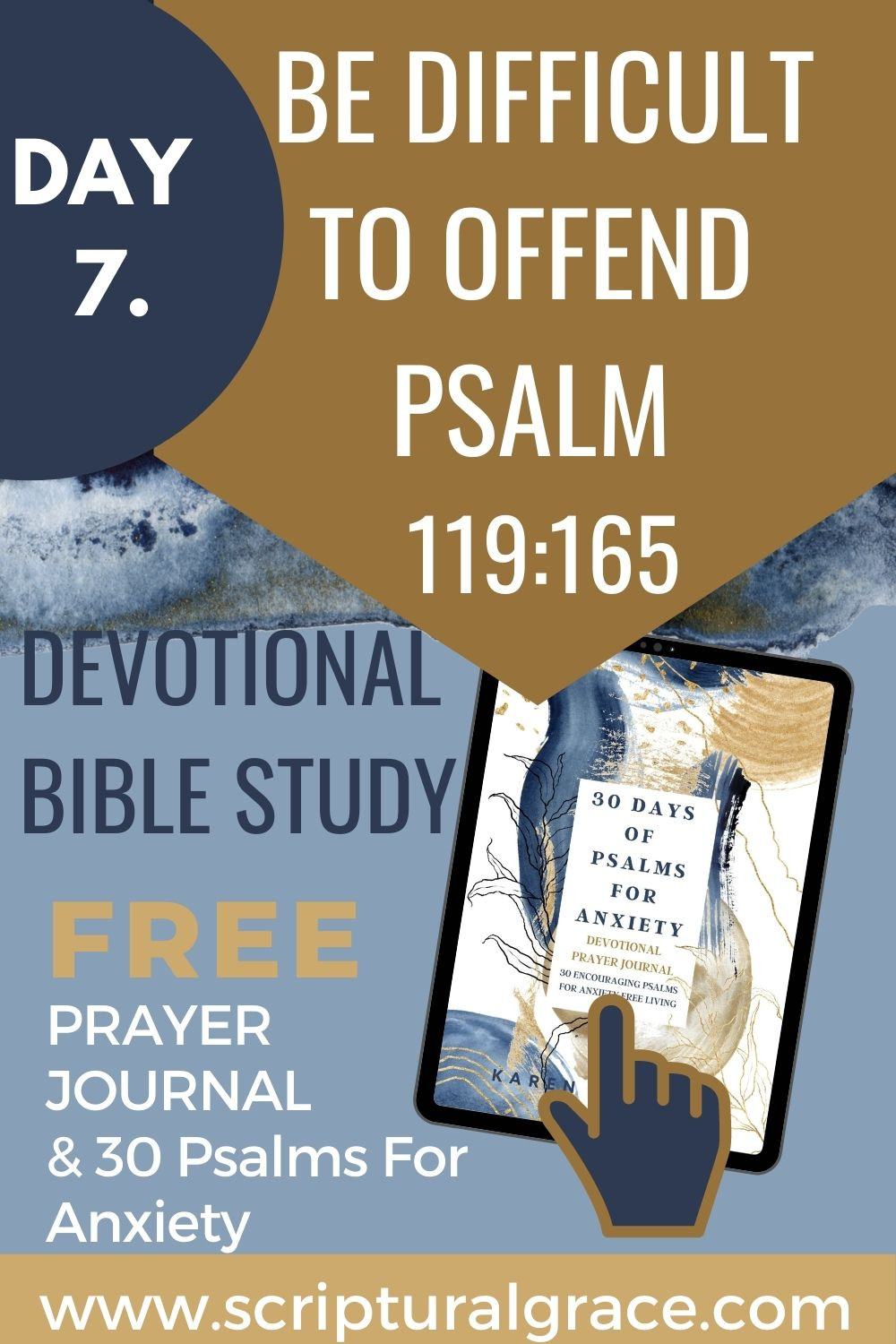 BE DIFFICULT TO OFFEND DEVOTIONAL PSALM 119 165 FREE PRINTABLE