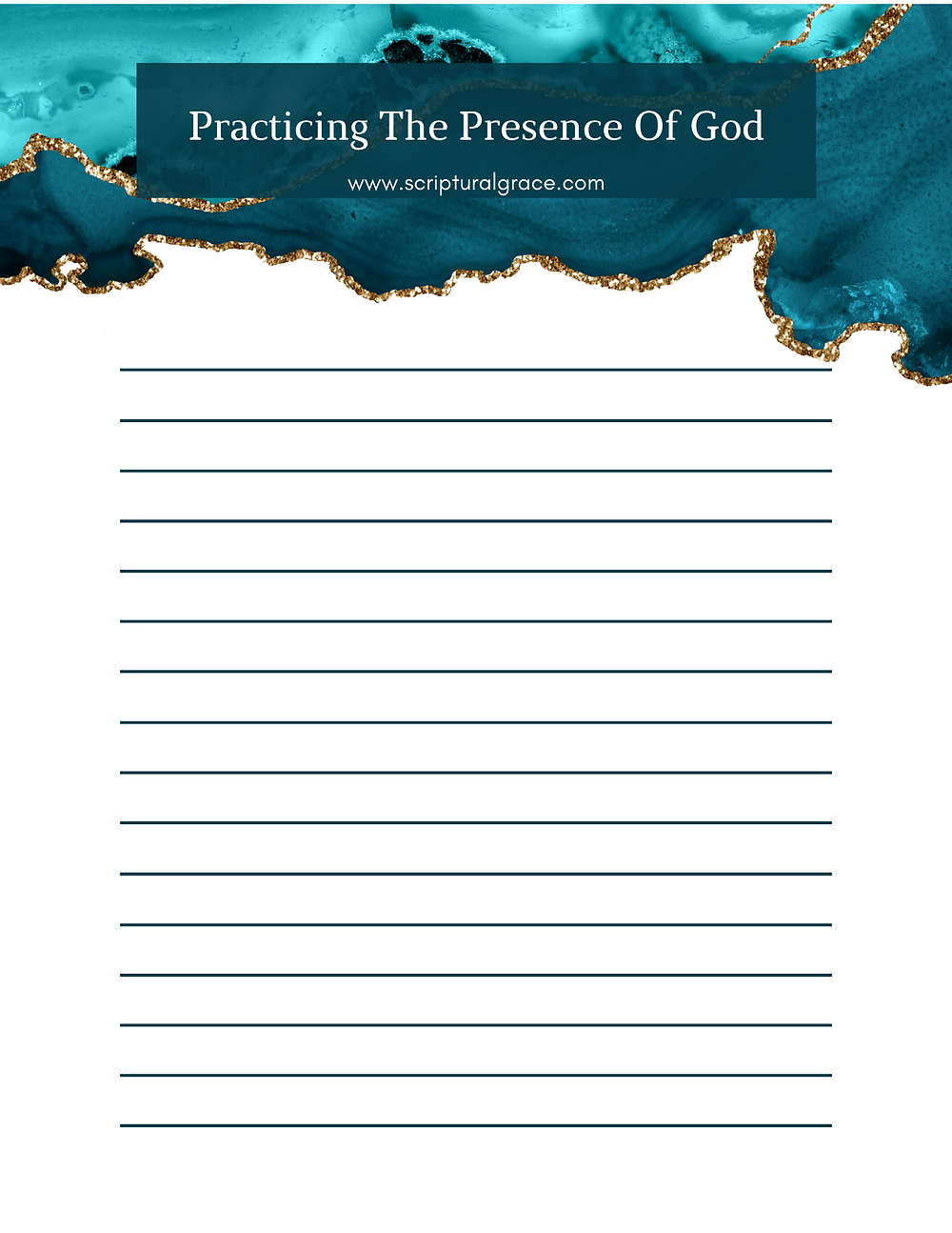 FREE PRACTICING THE PRESENCE OF GOD BIBLE STUDY PRINTABLE
