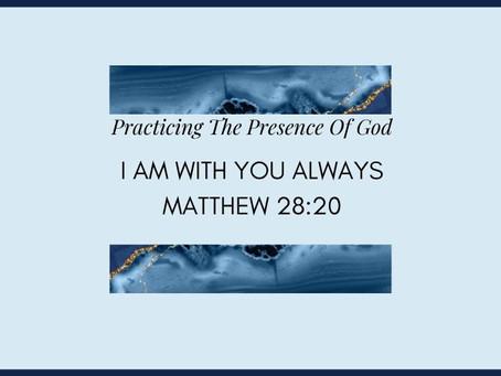 Devotional Bible Study: I Am With You Always | Matthew 28:20.