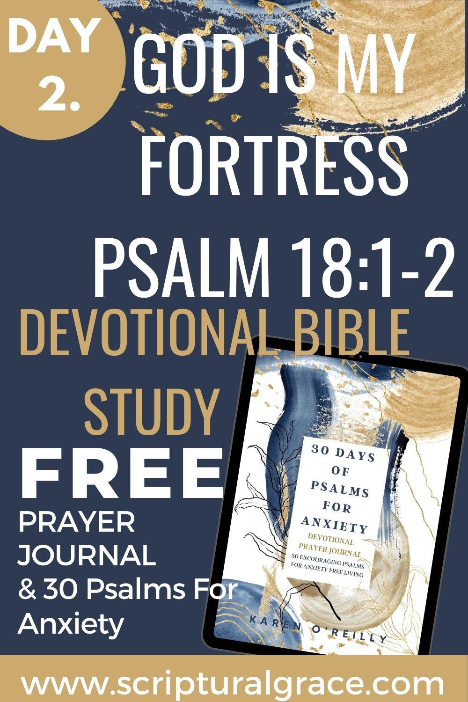 God is my fortress devotional bible study psalm 18