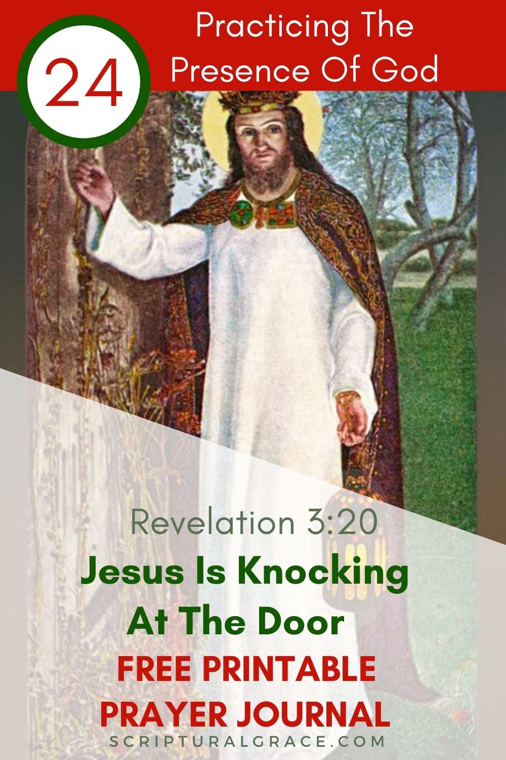 Jesus is knocking on the door Revelation 3 20 devotional bible study for women and free printable