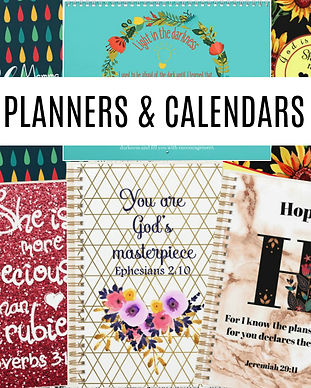 Planners and calendars Zazzle thumbnail.