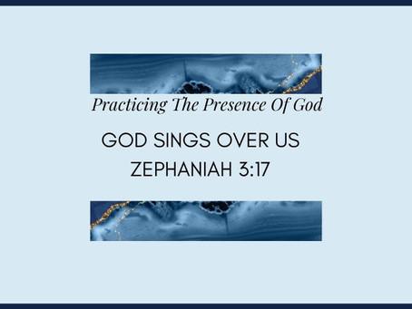 Devotional Bible Study: God Sings Over Us | Zephaniah 3:17.