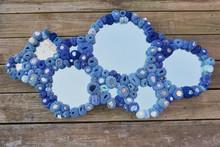 Blue Bubble Multi Mirror