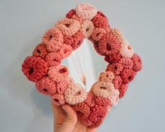 Pink Square Mirror