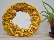 Joyful Yellow Mirror