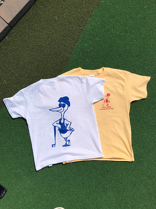 LAVA GOLF T SHIRTS