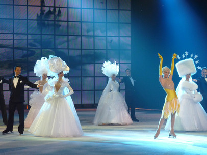 """NEW TECHNOLOGY FROM AUSTRIA AT THE """"HOLIDAY ON ICE"""" SHOW AT THE WIENER STADTHALLE"""