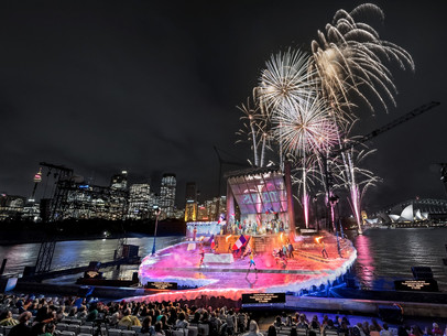 "zactrack for Puccini's ""La Bohéme"" at Sydney Harbour!"