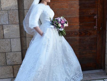 טיפים לבחירה נכונה של שמלת הכלה שלך!!   טיפ #1