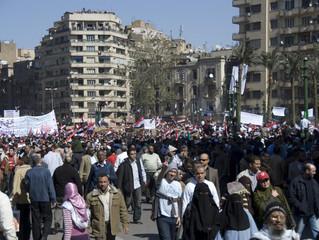 Tahrir Square, batata and a wedding