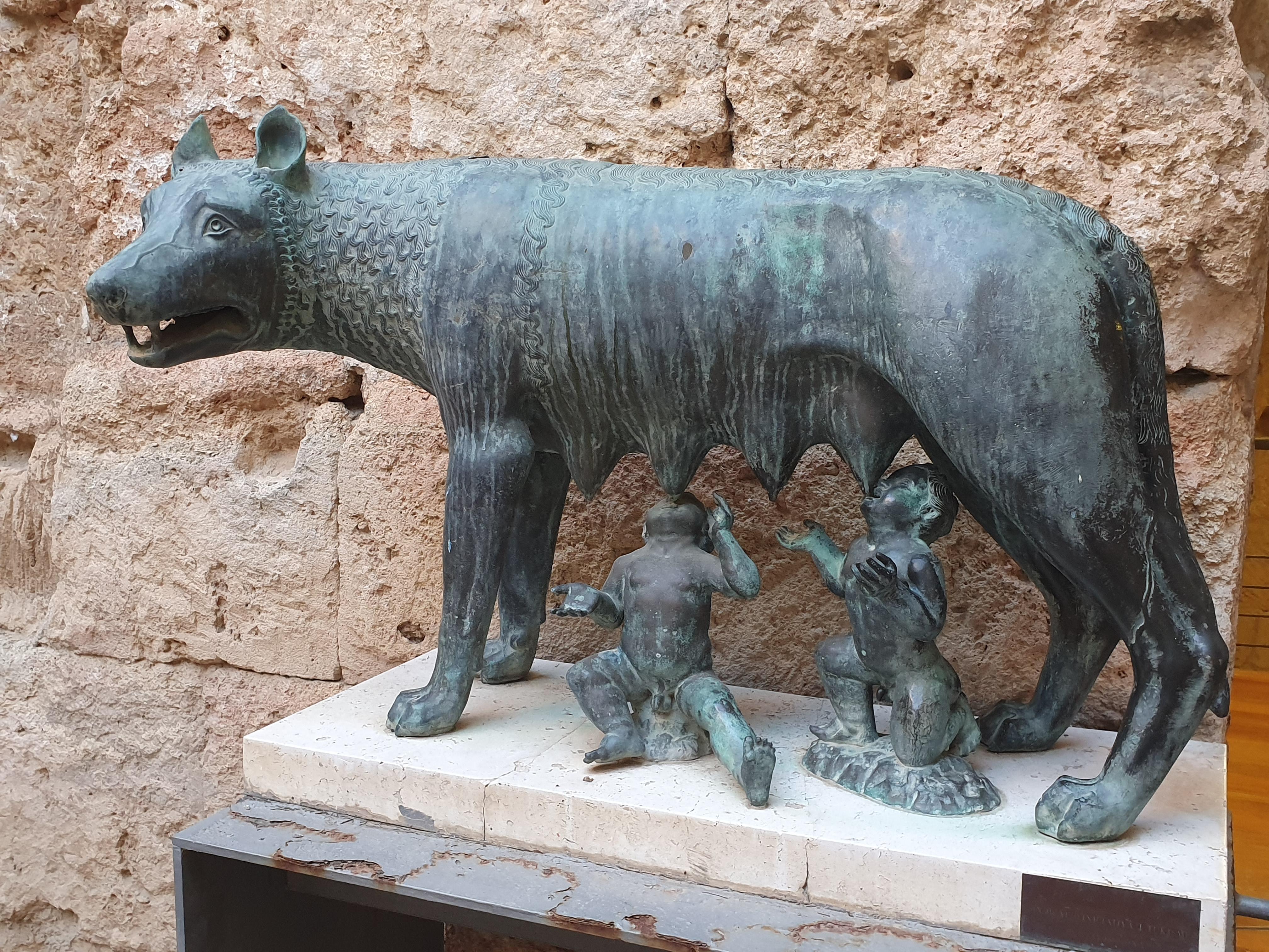 Roman era statue
