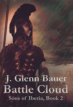 Second punic war warrior on book cover