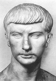 Marble bust of Roman Consul, Marcus Claudius Marcellus