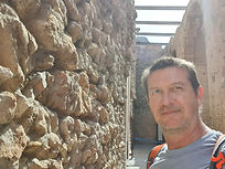 J. Glenn Bauer at Roman Circus, Tarragona